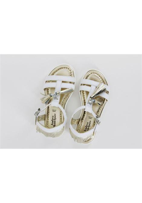 Sandalo Andrea Montelpare baby ANDREA MONTELPARE | Sandali | 50154BIANCA