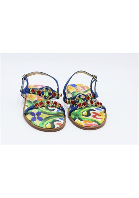 Sandalo Caruso Donna CARUSO | Sandali | BB12BBLUETTE