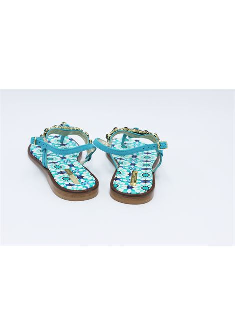 CARUSO | foot flip flops | BB13CTURCHESE