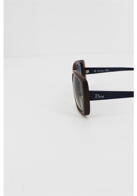 CHRISTIAN DIOR | glasses | DIOR02AZZURRA-MARRONE