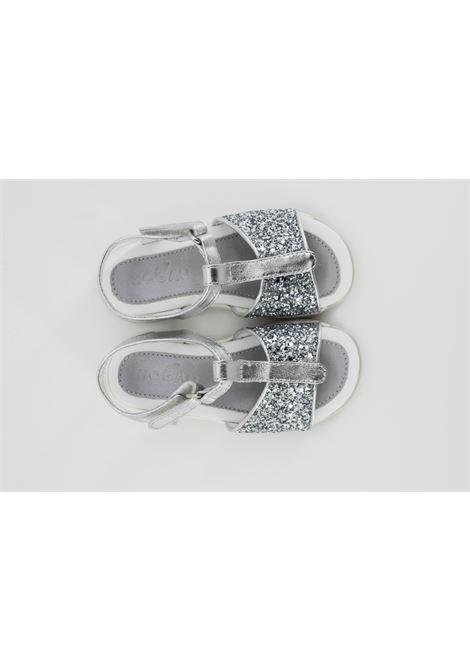 HOGAN | sandals  | 77B200ARGENTO