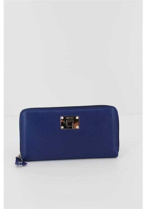 JIMMY CHOO | wallet | 111355BLUETTE
