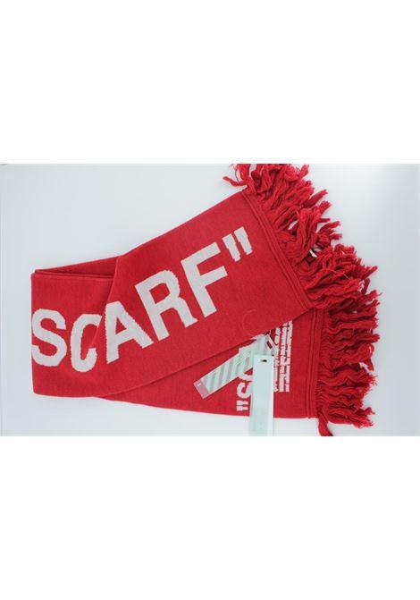 Sciarpa Off White Unisex OFF WHITE | Sciarpa | OFF001ROSSA