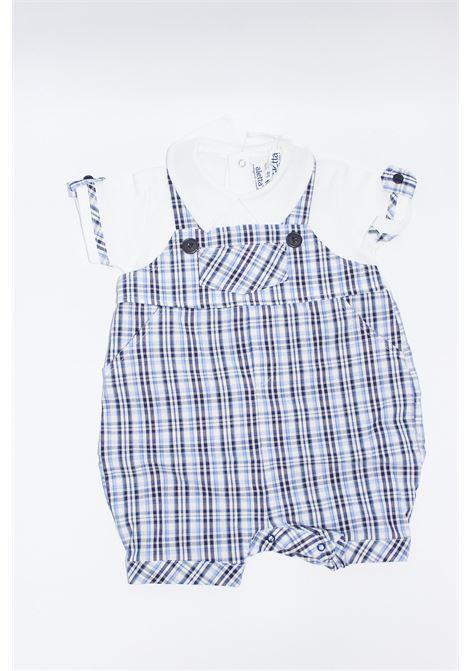 ALETTA | short suit  | TUT0178BLU-BIANCO