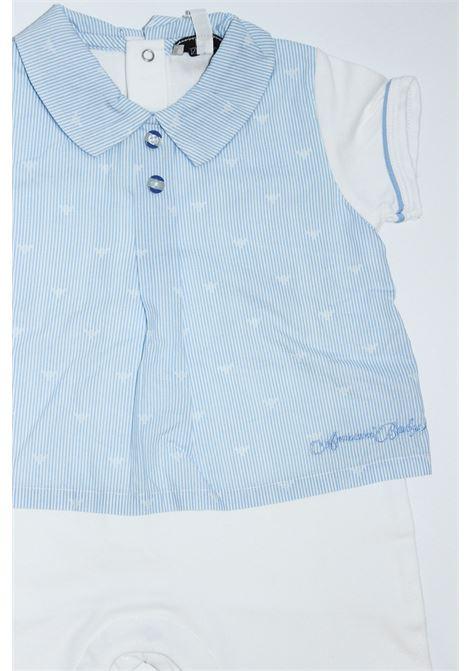 ARMANI | short suit  | TUT0260CELESTE-BIANCO