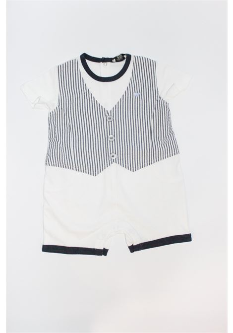 ARMANI | short suit  | TUT0261BIANCO-BLU