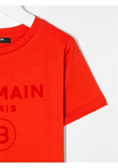 T-shirt Balmain BALMAIN | T-shirt | BAL01ARANCIO