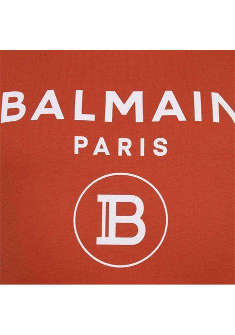 T-shirt Balmain BALMAIN | T-shirt | BAL04ARANCIO SCURO