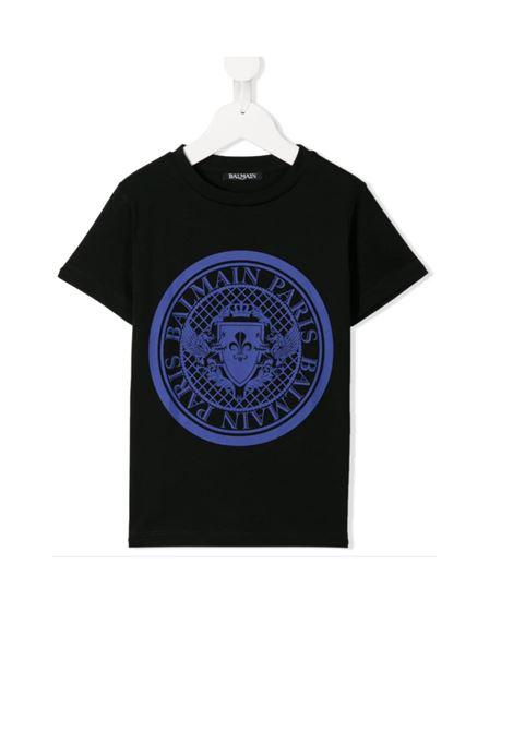 T-SHIRT BALMAIN BALMAIN | T-shirt | BAL07NERO BLU
