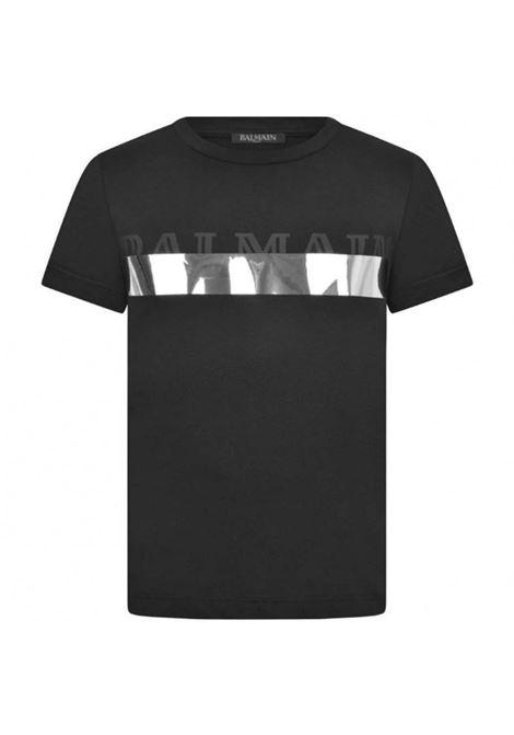 BALMAIN   T-shirt   BAL09NERO