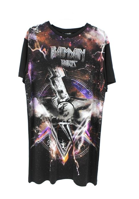 T-SHIRT BALMAIN BALMAIN | T-shirt | BAL10NERO FANTASIA