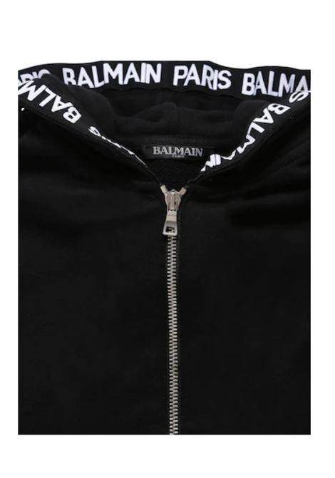 BALMAIN | sweatshirt | BAL21NERO
