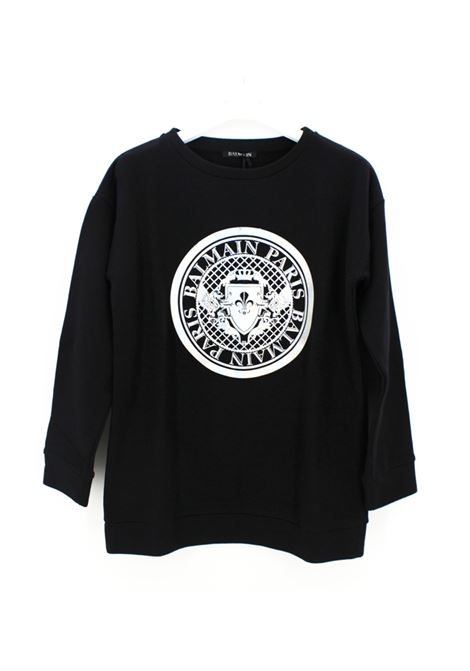 BALMAIN | sweatshirt | BAL24NERO