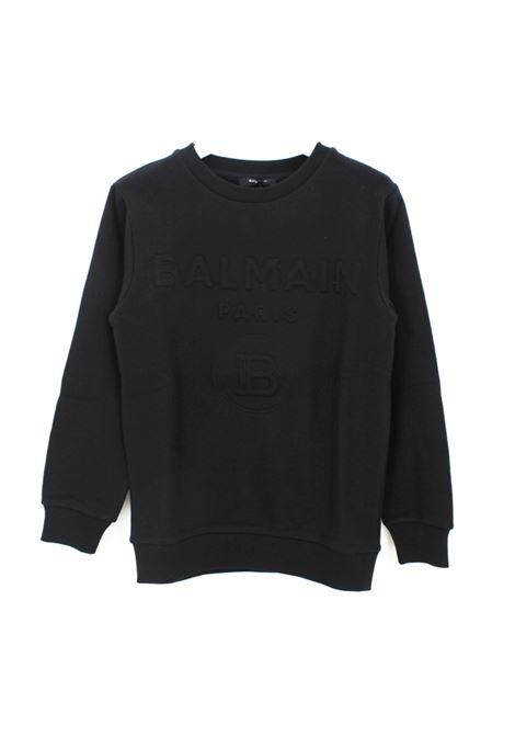 BALMAIN | sweatshirt | BAL25NERO