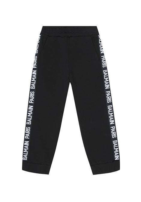 BALMAIN   plushy trousers   BAL27NERO