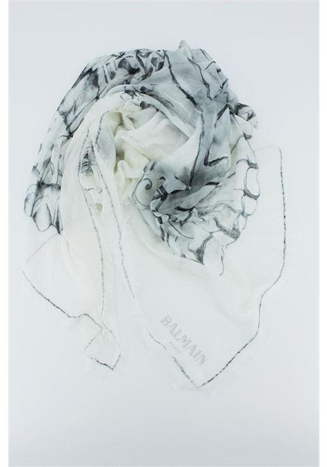 BALMAIN | foulard | BALM007GRIGIA