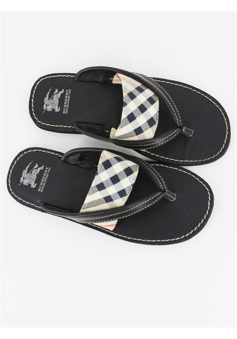 BURBERRY | foot flip flops | B29042NERA