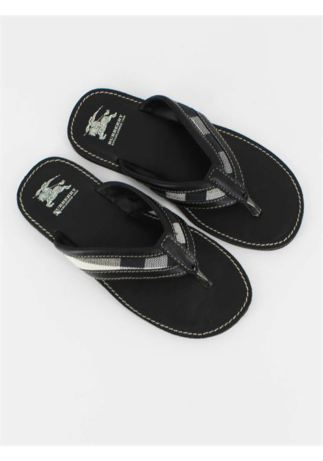BURBERRY | foot flip flops | B29052NERA