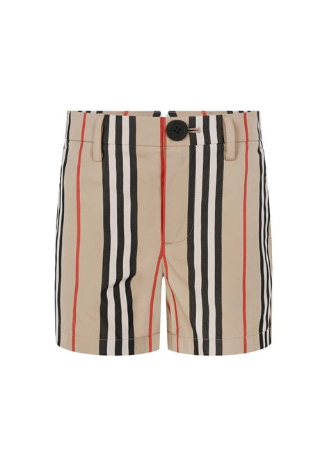 BURBERRY | Bermuda pants  | BUR263CHECK BEIGE