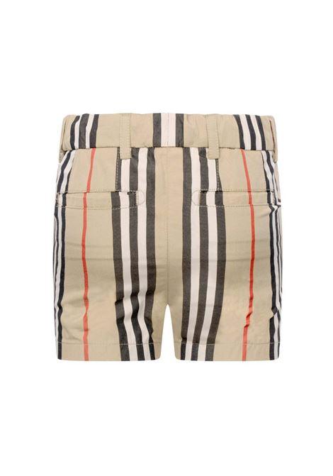 BURBERRY | Bermuda pants  | BUR290CHECK BEIGE