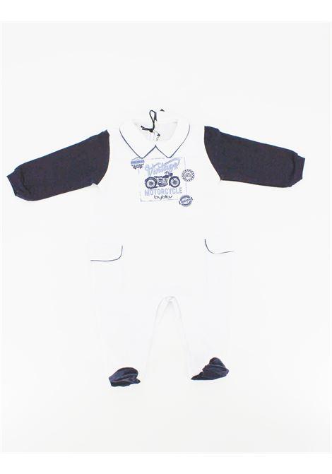 Tutina Byblos manica lunga neonato BYBLOS | Tutina | TUT0047BIANCO/BLU