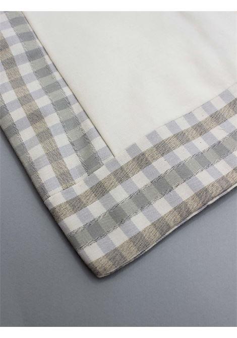 CARLO PIGNATELLI | padded blanket | COP0010PANNA-GRIGIO
