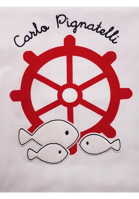 CARLO PIGNATELLI | blanket | COP0012BIANCO-ROSSO