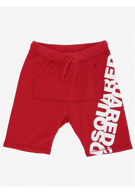 DSQUARED2 | Bermuda pants  | DSQ240ROSSO