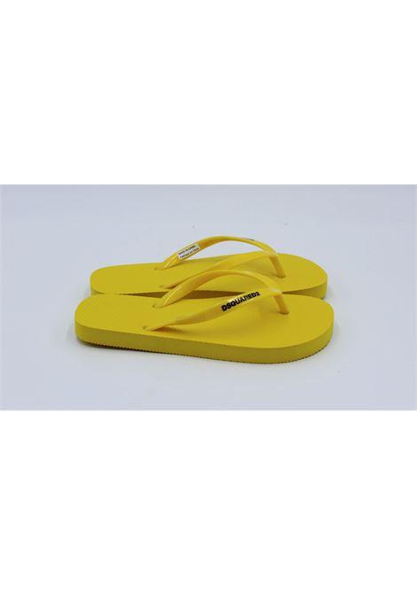 DSQUARED2 | foot flip flops | H6314GIALLA