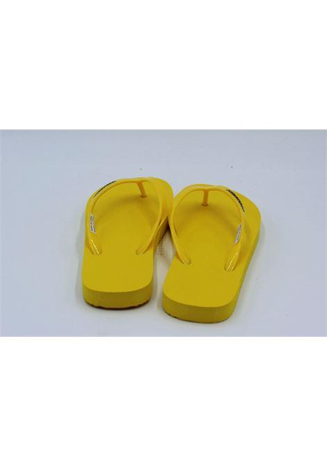 DSQUARED2   foot flip flops   H6314GIALLA