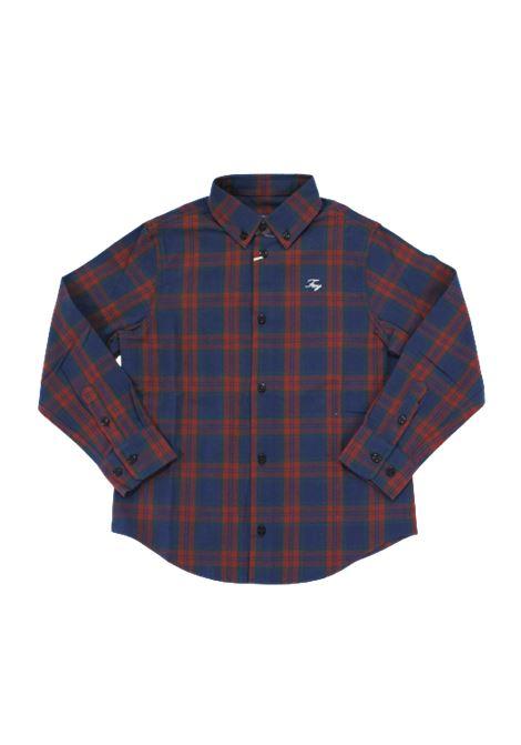 Camicia FAY FAY | Camicia | 5N5080BLU QUADRI