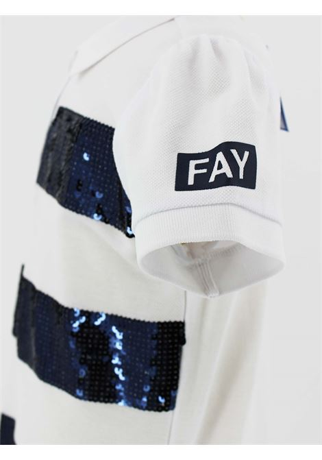 FAY | Dress | FAY57BIANCO BLU
