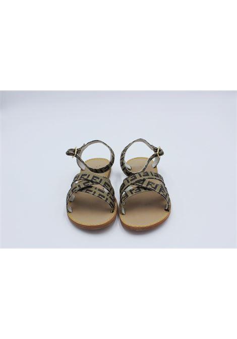 FENDI | sandals  | 15803BEIGE