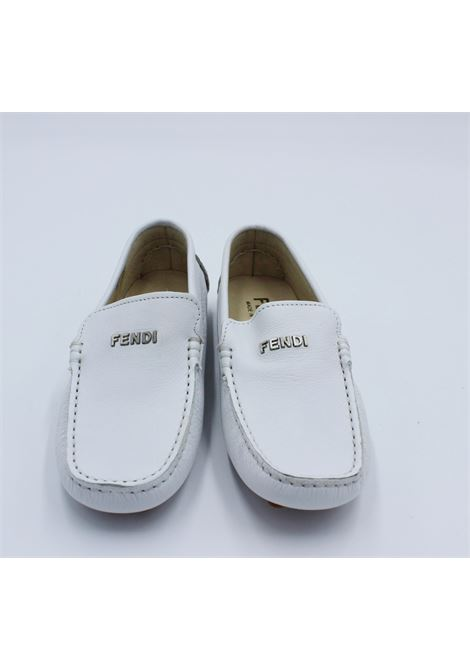 Mocassino Fendi junior FENDI | Mocassini | 20180BIANCA