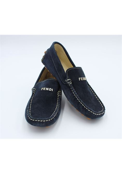 Mocassino Fendi junior FENDI | Mocassini | 20180BLU