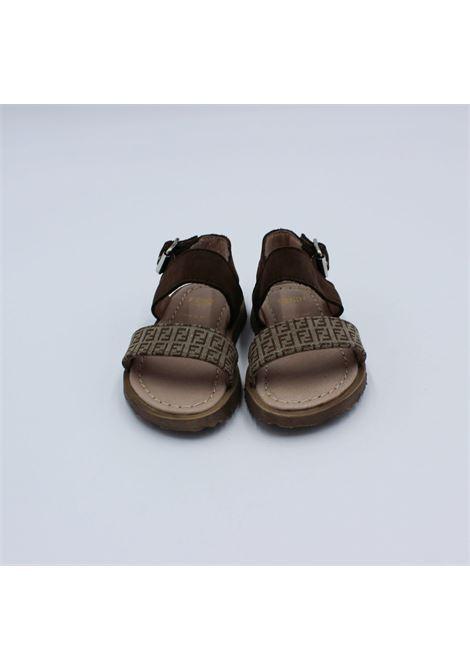 FENDI | sandals  | 44209NOCCIOLA