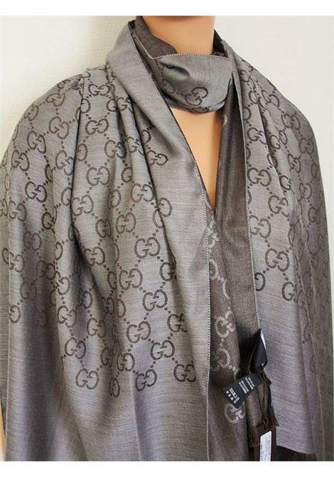 GUCCI | foulard | 1659033G646TESTA DI MORO