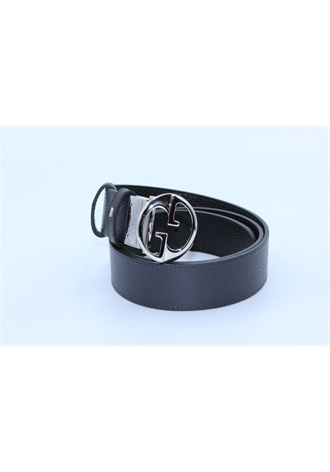 GUCCI | belt | 449715DOUBLE NERO BLU