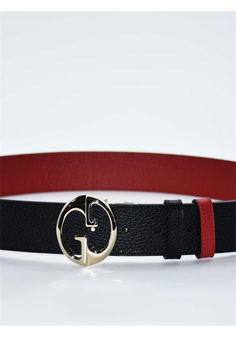 Cintura Gucci GUCCI | Cintura | 450000DOUBLE NERO-ROSSO