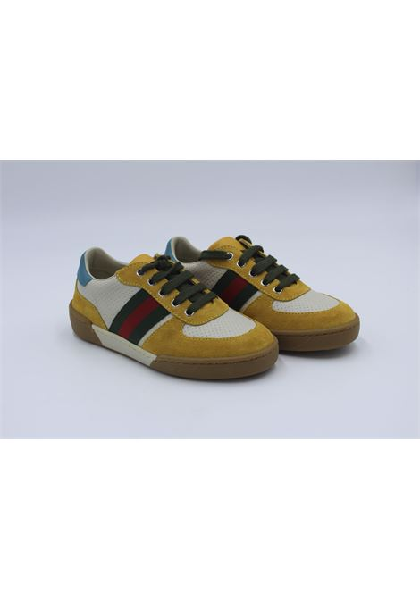 Sneakers Gucci Junior GUCCI | Sneakers | 477460SENAPE