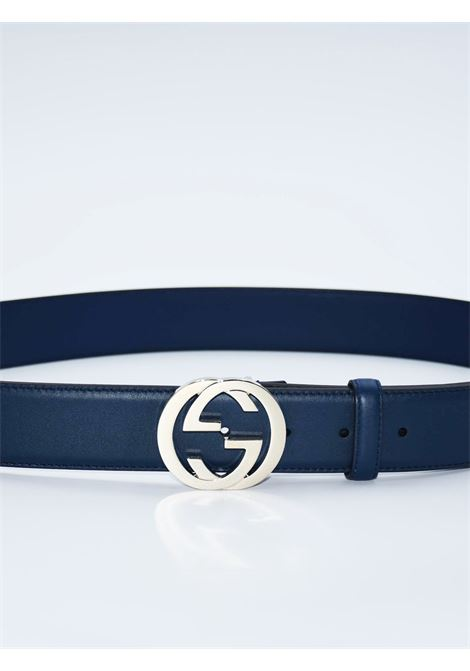 GUCCI | belt | 546386BLU
