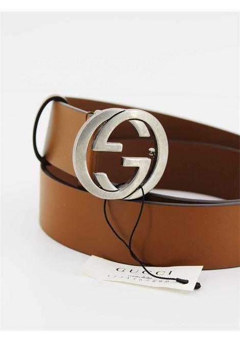 GUCCI | belt | 546389CUOIO