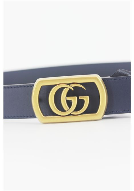 Cintura Gucci Unisex GUCCI | Cintura | 575587BLU-ORO