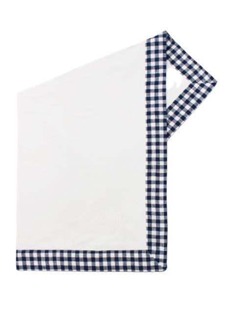IL GUFO | blanket | COP0022BIANCO-BLU