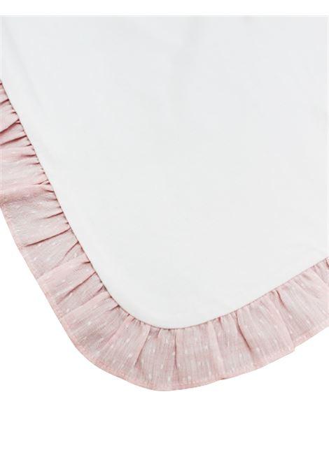 IL GUFO | blanket | COP0028BIANCO-ROSA