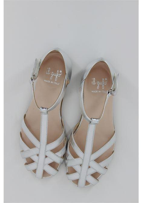Sandalo Ballerina Il Gufo Bimba IL GUFO   Ballerina aperta   G681ARGENTO