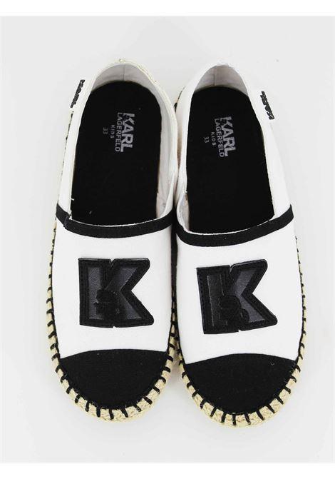 Espadrillea Karl Lagerfeld KARL LAGERFELD | Espadrillas | Z19011BIANCA