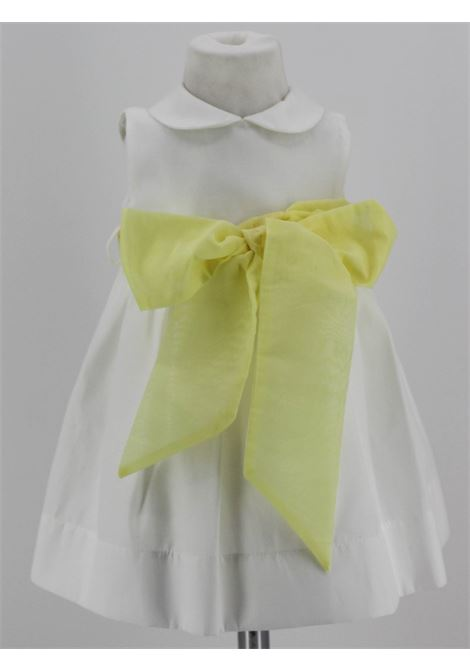LITTLE BEAR | Dress | BEA01BIANCO GIALLO