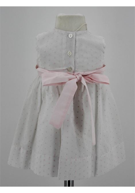 LITTLE BEAR | Dress | BEA05BIANCO ROSA