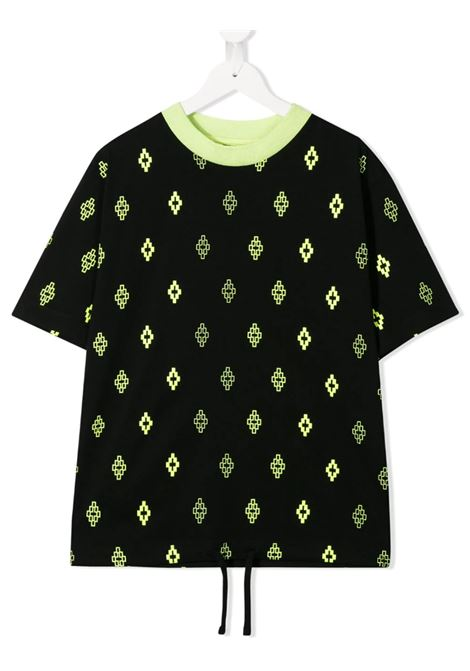 MARCELO BURLON | T-shirt | MAR59NERO FLUO